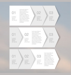 Web elements tab paper vector