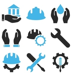 Service tools icon set vector