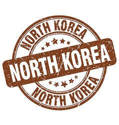 North korea stamp vector
