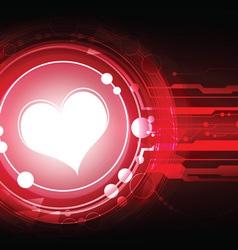Cardiograph concept background vector