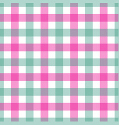 seamless pink and green colored vector image vector image