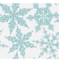 Seamless pattern with hand drawn graphic vector image