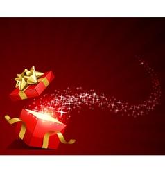 elegant present background vector image