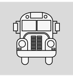 Graphic design of transportation vector