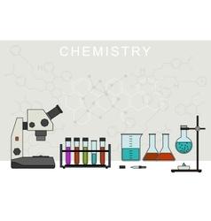Chemistry banner vector