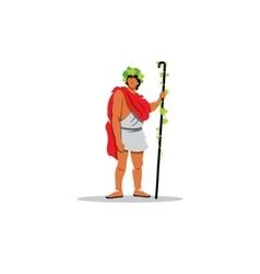 Dionysus sign The Mythological Greek god of wine vector image vector image