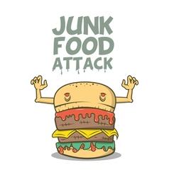 Junk food attack vector