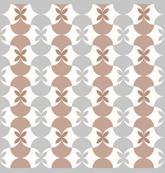 Seamless anthracite moroccan style pattern vector