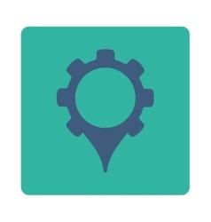 Gps Settings icon vector image