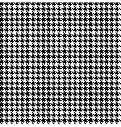 Black-white houndstooth background -seamless vector