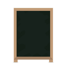 Blackboard restaurant menu vector