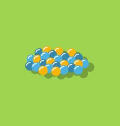 Caviar icon in sticker style vector