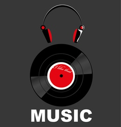 The Music vector image