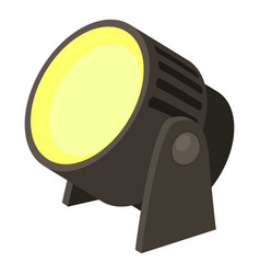 Spotlight icon cartoon style vector