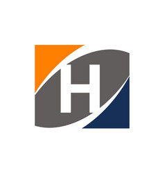 Success solution letter h vector