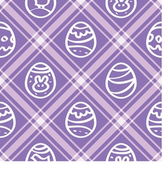 Seamless wallpaper lilac print repetitive easter vector