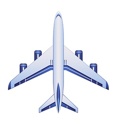 business airplane vector image vector image