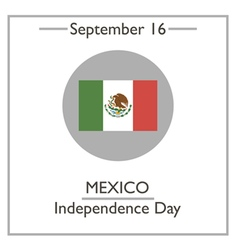 Mexico independence day vector