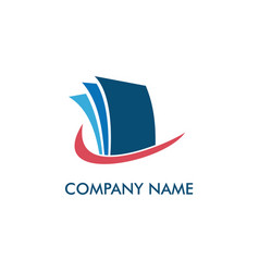 paper-document-office-logo vector image