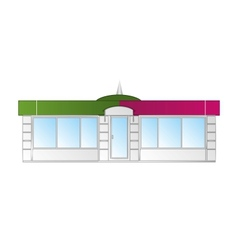 shop front vector image vector image