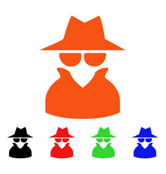 Spy icon vector