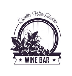 wine bar club house icon template for vector image vector image