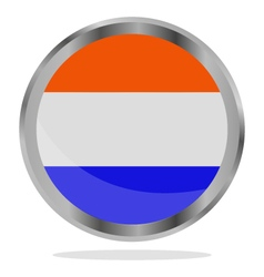Holland flag vector