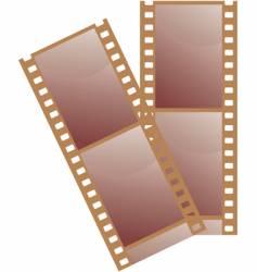 35 mm film illustration vector image