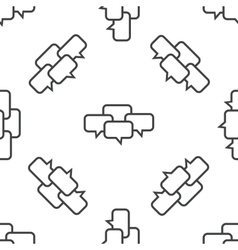 Chat conference pattern vector