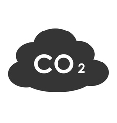 Enegy and pollution symbol theme design icon vector image