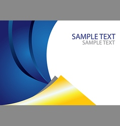 Abstract Layout Template vector image vector image