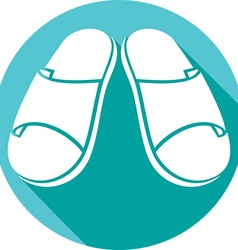 Sandals icon vector