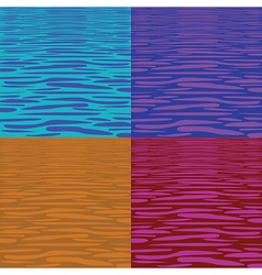 Water pattern vector image