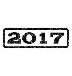 2017 watermark stamp vector