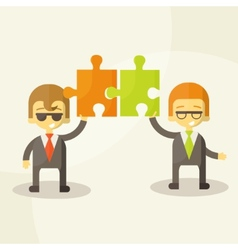 Business man team work vector