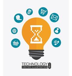 Technology design vector image