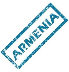 Armenia rubber stamp vector image vector image