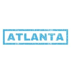Atlanta Rubber Stamp vector image vector image