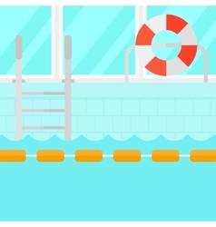 Background of swimming pool vector
