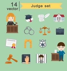 Judge set vector