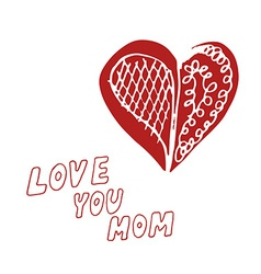 mothers day background vector image