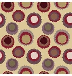Seamless polka dot motley texture abstract vector