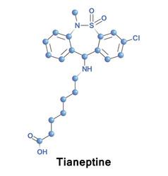 Tianeptine drug treatment vector