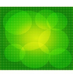 Green abstract technology background with seamless vector