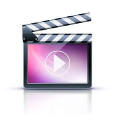 Media player icon vector