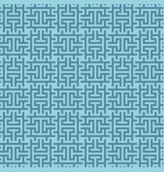 blue squares modern seamless pattern vector image vector image
