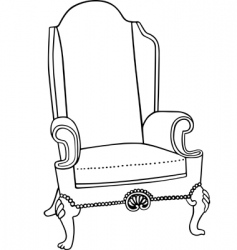 Vector chair vector
