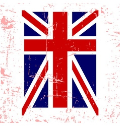 British flag t shirt typography graphics vector image