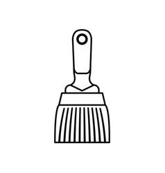 Paint brush construction tool vector