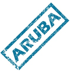 Aruba rubber stamp vector